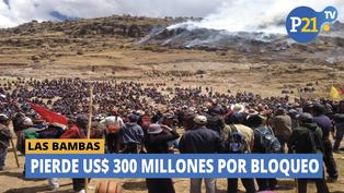 Las Bambas: Pierde US$300 millones por bloqueo