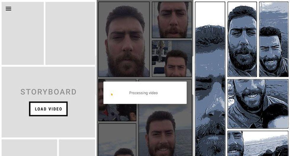 Storyboard (Android): Esta app permite transformar los videos en diseños de cómic desde tu celular. Solamente es necesario grabar el video y la herramienta se encargará de seleccionar la secuencia y aplicar automáticamente los bordes al video.