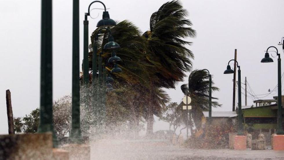 Huracán María llega a Puerto Rico (AFP).