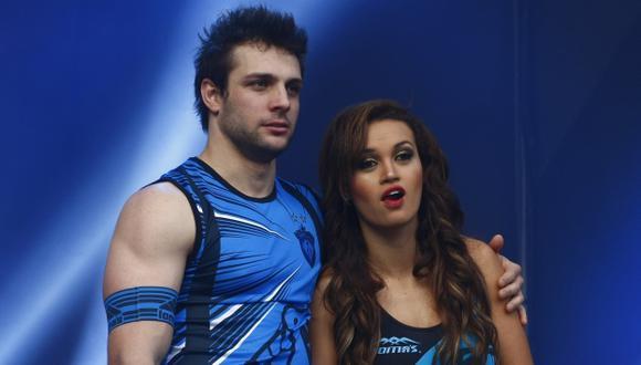 Angie Arizaga y Nicola Porcella continúan en grabaciones de 'Ven, baila, quinceañera'. (USI)