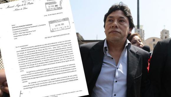 Informe de la notaría Noya de la Piedra, del mes pasado, revela que la transferencia de acciones no se concreta. (D. Vexelman)