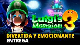 Luigi's Mansion 3: Divertida y emocionante aventura [VIDEO]