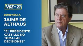 Jaime de Althaus analiza el gabinete de Guido Bellido