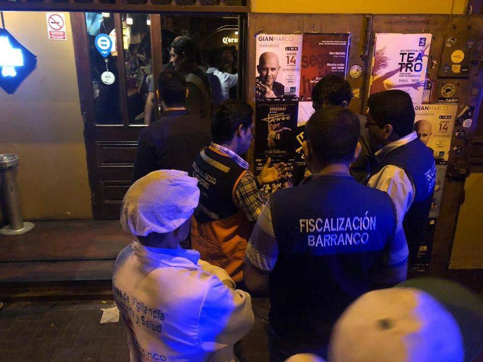 Las intervenciones se realizaron durante esta semana, debido a que no cumplían con las normas ediles, detallaron. (Foto: Municipalidad de Barranco)