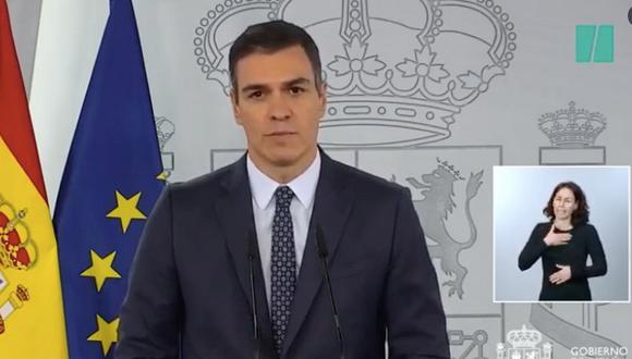 El estado de alarma había sido pedido en las últimas horas por las comunidades autónomas del País Vasco, Cataluña, Cantabria, así como la mayoría de gobiernos regionales del PSOE. (Foto: Twitter)