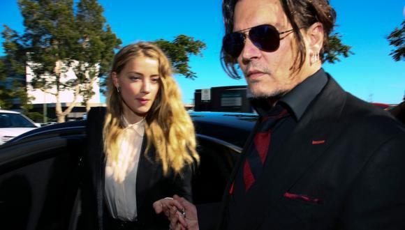 Johnny Depp aparece por sorpresa en un juicio por difamación en Londres. (Foto: AFP)