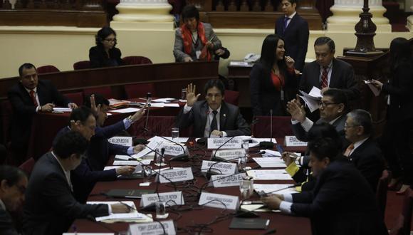 La Comisión de Fiscalización es presidida por el fujimorista Segundo Tapia. (Foto: GEC/ Anthony Niño De Guzmán)