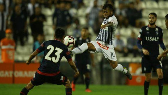 Joaziñho Arroé marcó el gol para la victoria de Alianza Lima. (Foto: GEC)