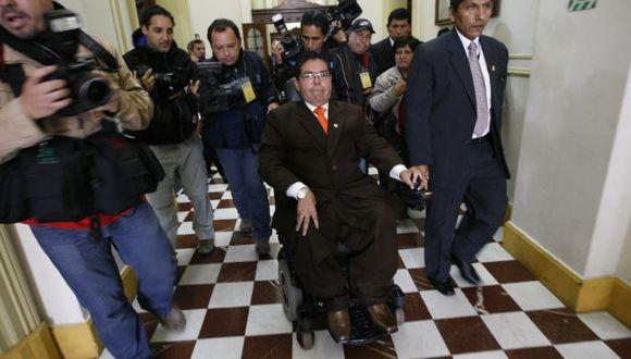 Urtecho se declara inocente y aduce que las denuncias forman parte de una campaña para sacarlo del Congreso. (Luis Gonzales)