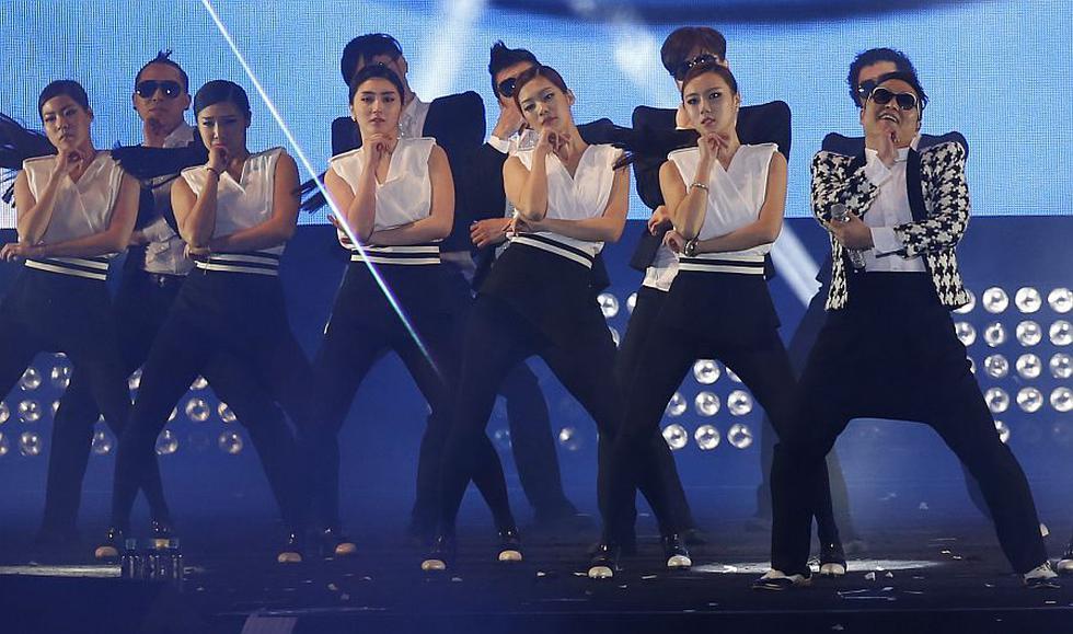 El rapero interpretó en público por primera vez 'Gentleman', single que sale  después del éxito mundial del 'Gangnam Style'. (AP)