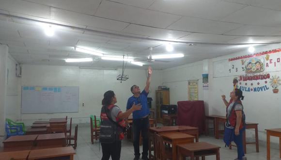 Clases se mantienen suspendidas en cinco colegios de las regiones de Loreto y San Martín (Twitter:@MineduPeru)