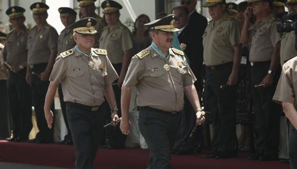 Salazar sigue firme en la PNP. (César Fajardo)