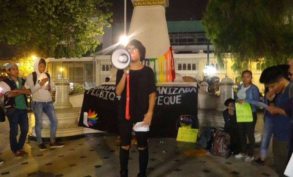 Comunidad LGTBQ+ de Lambayeque se pronunció ante negativa de realizar 'Marcha del Orgullo en Chiclayo' (Facebook/ LGTBQ+ Lambayeque)