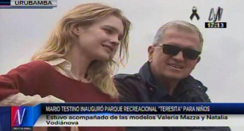 Mario Testino inauguró paraque recreacional 'Teresita' para niños en Cusco. (Canal N)