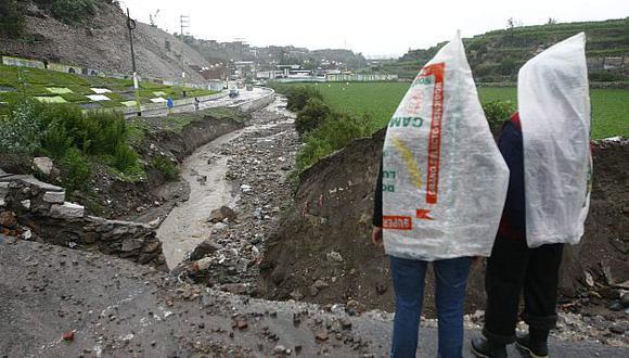 Costa, sierra y selva están en alerta por las lluvias y desbordes de ríos. (Heiner Aparicio)