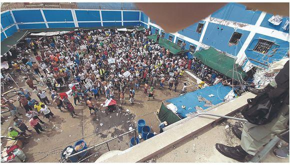Lambayeque. El INPE Zona Norte informó que hay 218 reclusos contagiados de COVID-19 en el penal de Chiclayo.