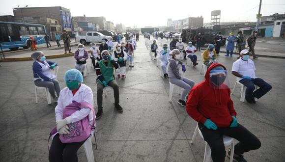 Ciro Maguiña dice que el brote del coronavirus en el país comenzará a descender en las próximas dos semanas. (Foto: Britanie Arroyo)