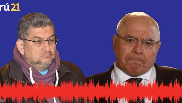 Walter Ríos y César San Martín