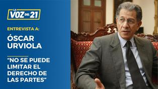 """Óscar Urviola: """"No se puede limitar el derecho de las partes"""""""