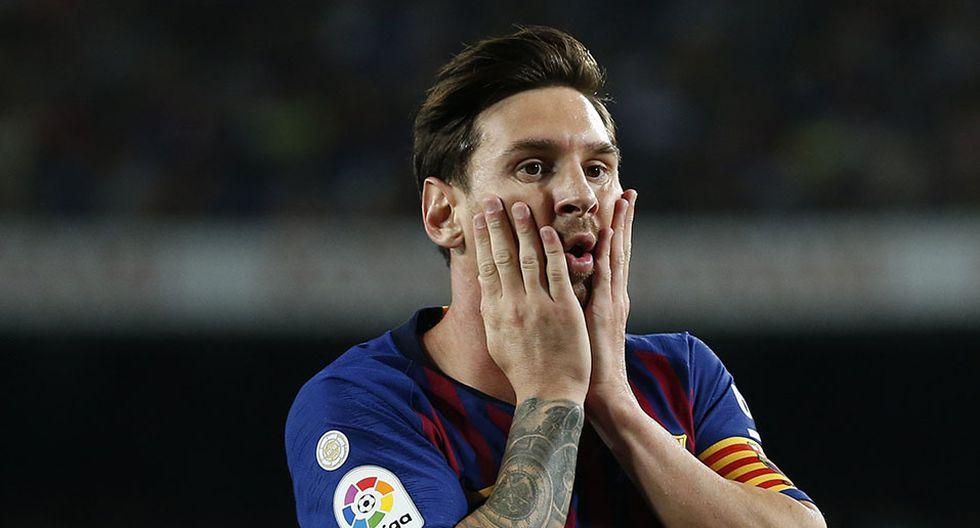 Lionel Messi, estrella máxima del Barcelona. (Foto: AFP)