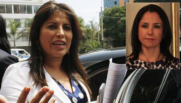 Ministra de la Mujer, Carmen Omonte, admite coordinaciones más no consultas a Nadine Heredia. (Nancy Dueñas)