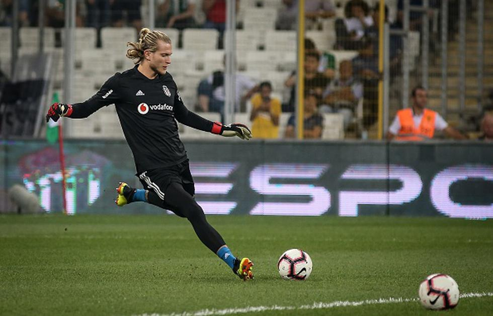Loris Karius. (Getty)