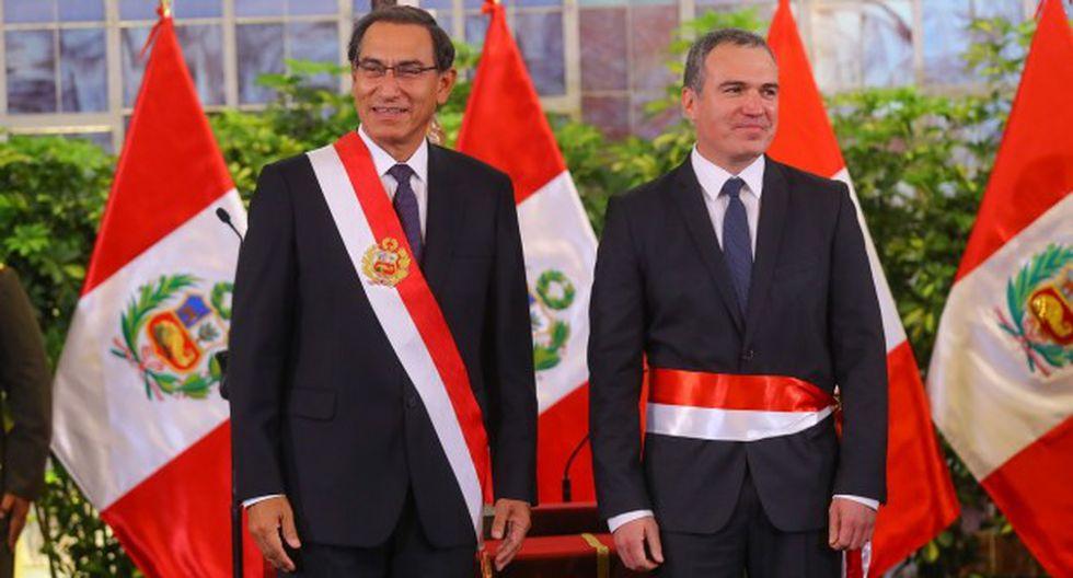 Vizcarra y Del Solar enviaron sendos saludos a todos los maestros del país por su día. (Foto: GEC)