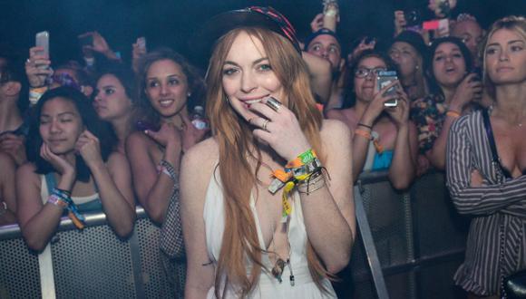 Lindsay Lohan no teme recaer en su adicción al alcohol. (AP)
