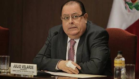 Julio Velarde aún no es ratificado como presidente del BCR por el gobierno de Pedro Castillo. (Foto: GEC)
