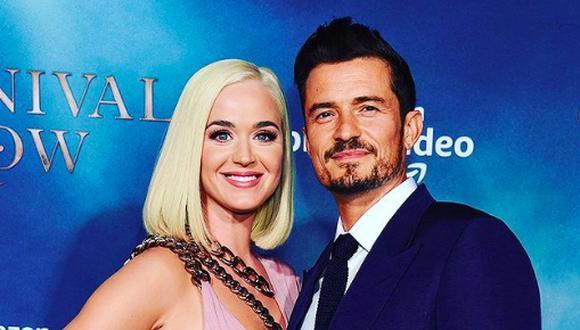 El romance Katy Perry y Orlando Bloom comenzó en 2016 cuando ambos coincidieron en la ceremonia de los Globos de Oro  (Foto: Instagram / @katyperry)