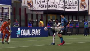 Usuario recrea el gol del Real Madrid al Inter de Milán en FIFA 21