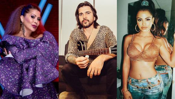 "Alejandra Guzmán, Juanes y Natti Natasha serán parte de la serie ""A Tiny Audience"" de HBO. (Foto: Instagram)"