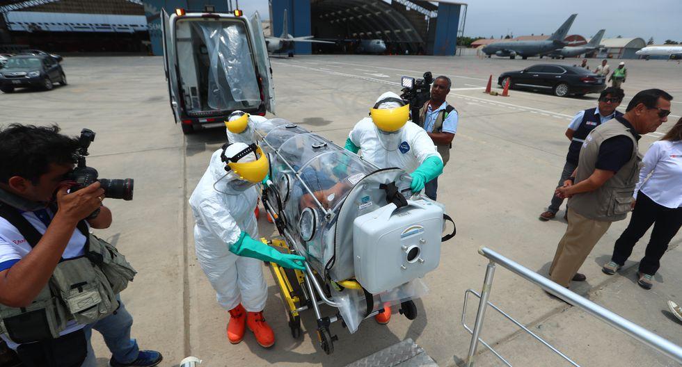 Minsa ofreció último reporte de coronavirus en Perú. (Foto: GEC)