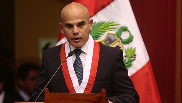 Álvarez toma el cargo en calidad de actual vicepresidente. (USI)