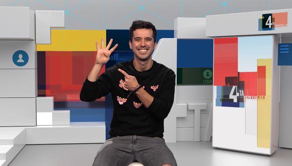 Jesús Alzamora vuelve a la televisión con 'La 4ta pantalla'