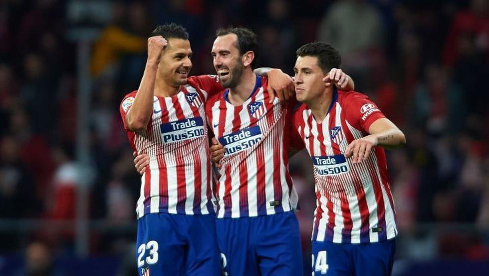 Atlético de Madrid vence 2-0 a Girona y sigue al acecho del Barcelona en LaLiga. (Foto: Getty Images)