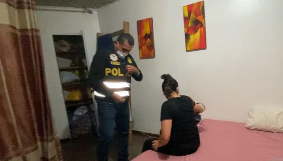 La Policía allanó un prostíbulo clandestino tras un trabajo de inteligencia. (Foto: Municipalidad de Miraflores)
