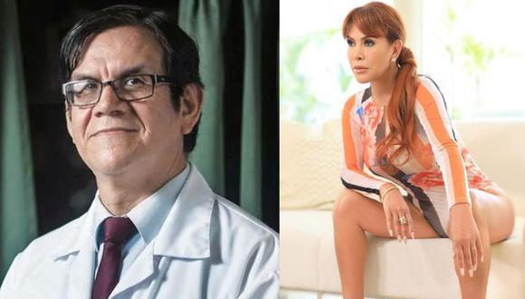 Ciro Maguiña pidió a Magaly Medina que no continúe con su programa mientras tenga coronavirus. (Difusión/Instagram)