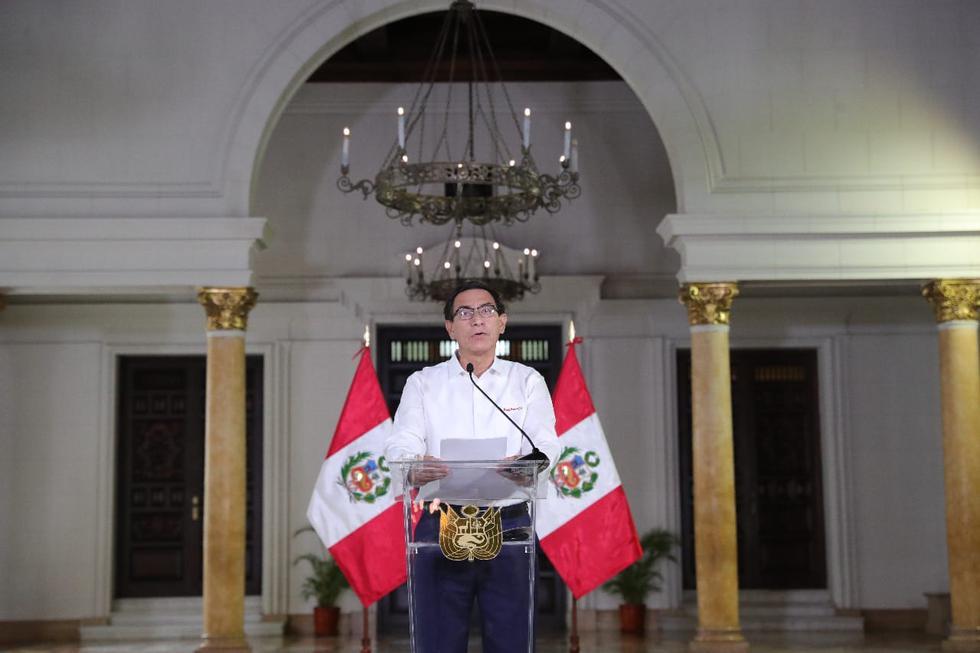 """Martín Vizcarra: """"Repudio que haya personas que quieran el caos y la inestabilidad por atender a intereses personales"""""""
