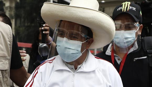 Pedro Castillo será investigado por el delito de falsa declaración en procedimiento administrativo. (Foto: GEC)