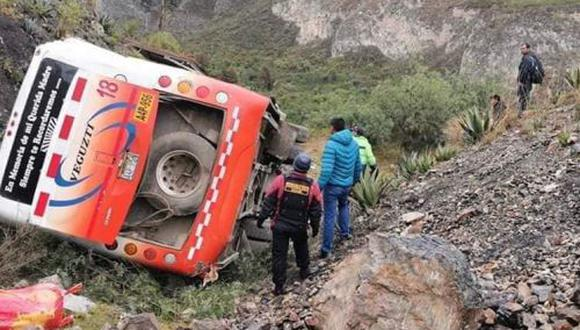 Se conoció que entre los heridos hay tres menores de edad. (Andina)