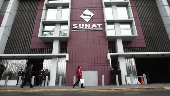 Por aclarar. Algunos funcionarios de Sunat habrían cometido colusión, según la Fiscalía. (César Fajardo)