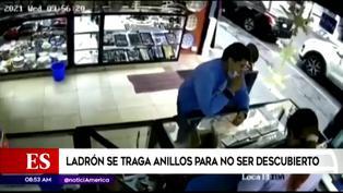 México: delincuente se traga anillos de oro para no ser descubierto