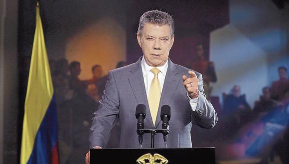 Colombia: Juan Manuel Santos amenaza a disidentes de las FARC. (USI)