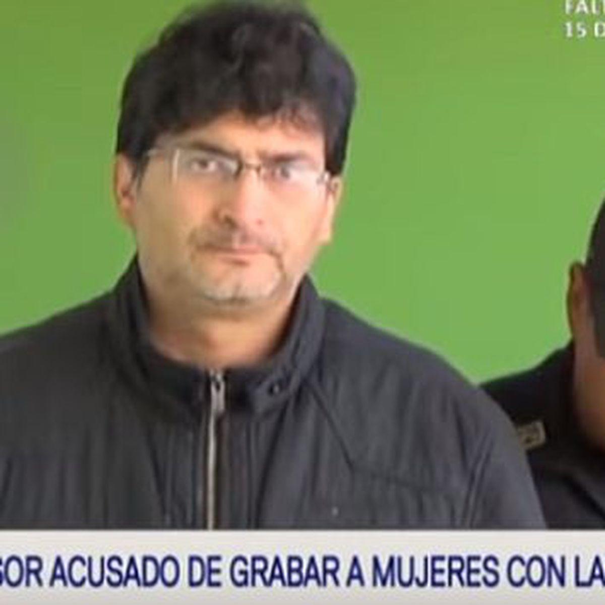 Camara Oculta Mujeres cajamarca: denuncian a profesor por grabar partes íntimas de