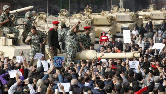 EEUU entrega tanques M1A1 Abrams a Egipto. (Reuters)