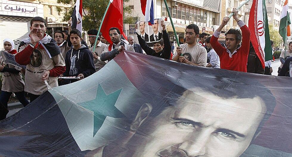 Los ciudadanos sirios protestan desde hace más de nueve meses. (AP)