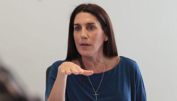 Carolina Lizárraga será precandidata presidencial en las elecciones internas del Partido Morado. (Foto: GEC)