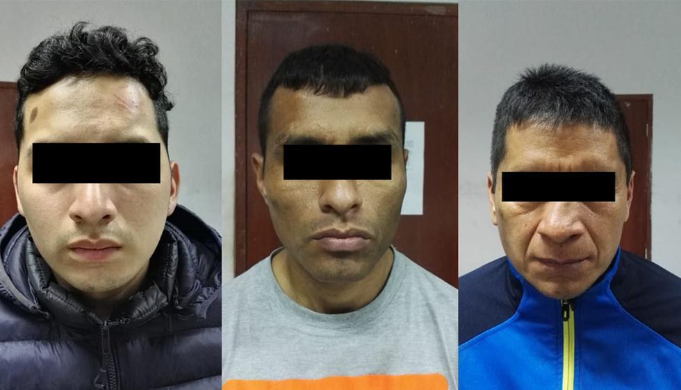 Desarticulan a 'Los bandidos de San Germán' en pleno robo de autos en Los Olivos. (Foto: Mininter)