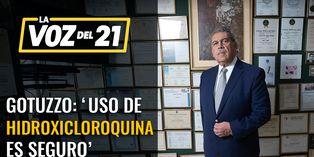 Eduardo Gotuzzo: 'Uso de hidroxicloroquina es seguro'